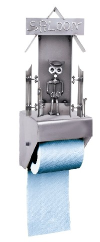 015 WC-rolhouder saloon €67,-