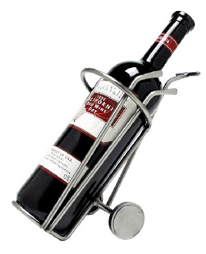 golf wijnfleshouder €27,50